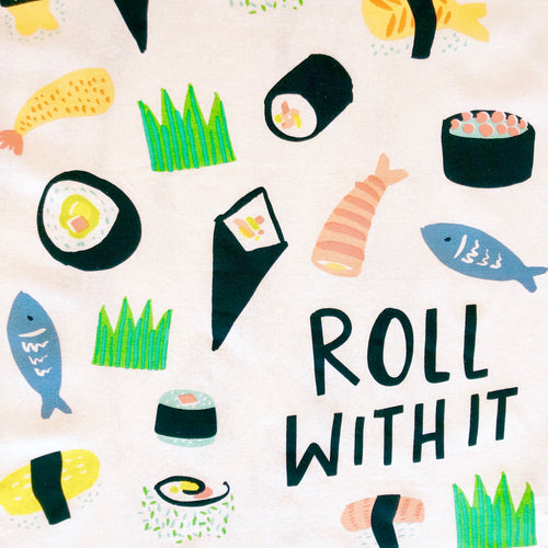 Roll With It Tea Towel