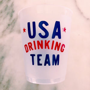USA Drinking Team Cups