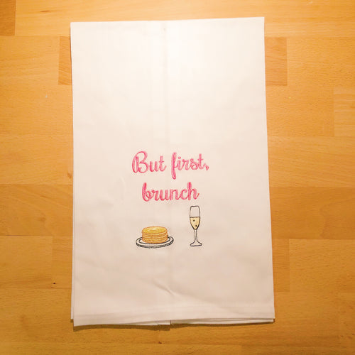 But First, Brunch Tea Towel