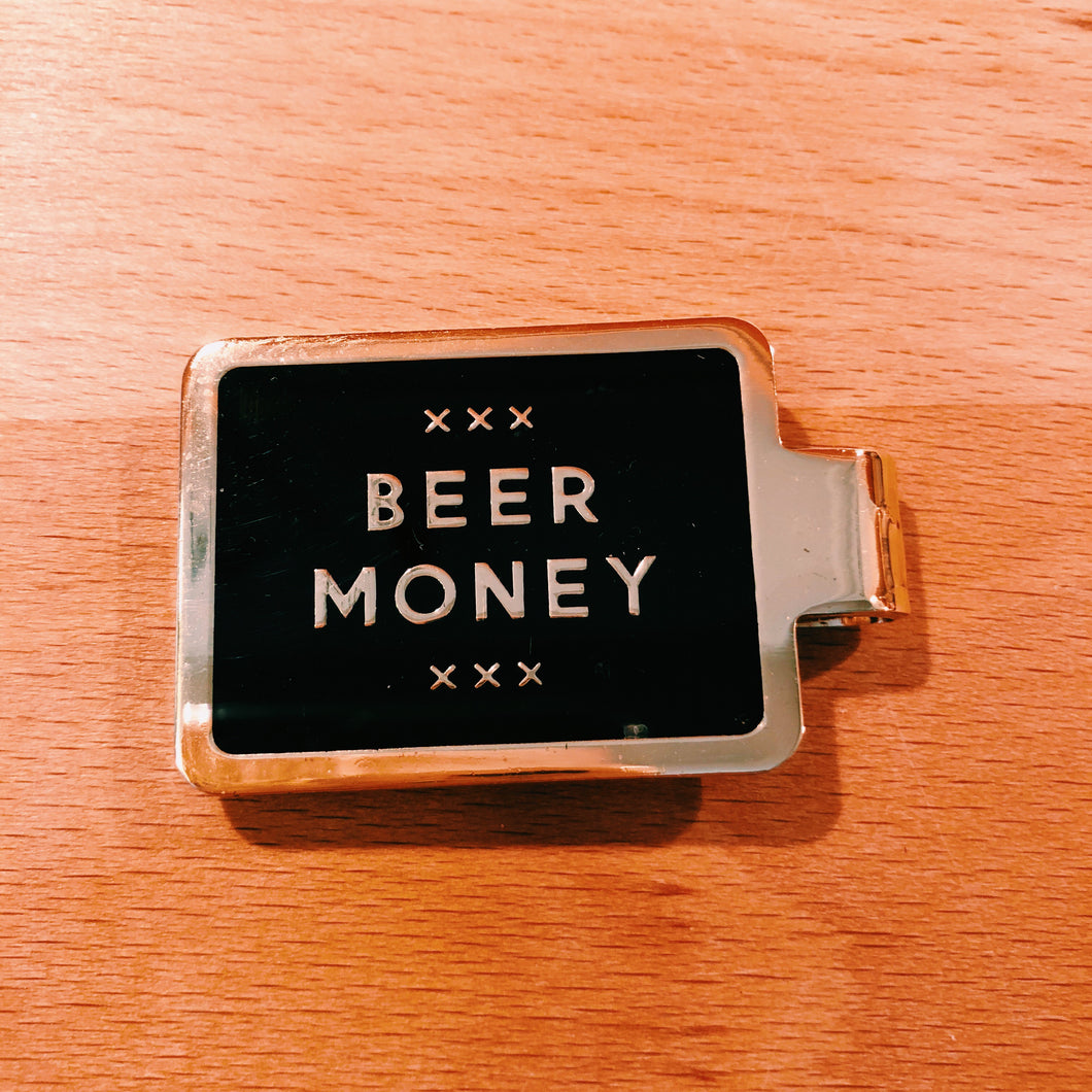 Beer Money Clip