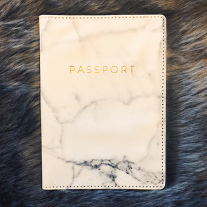 Marble Passport Holder