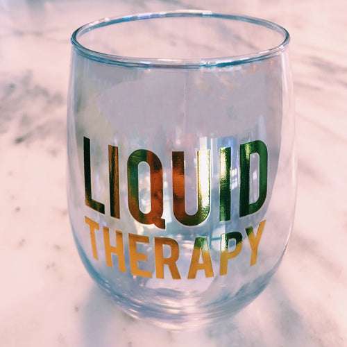 Liquid Therapy Stemless Glass