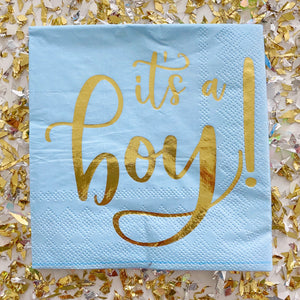 It's A Boy Napkins