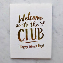 Welcome to the Club Card