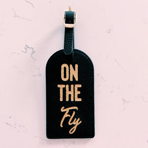 On The Fly Passport Holder & Luggage Tag