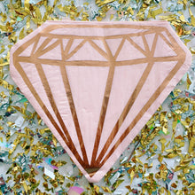 Rose Gold Diamond Shaped Napkins
