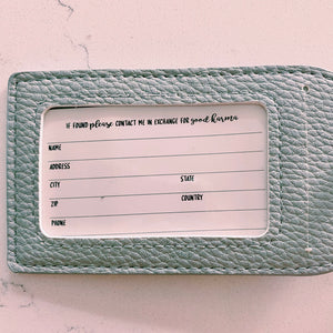 I'm Outta Here Passport Holder & Luggage Tag