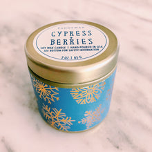 Cypress + Berries Candle