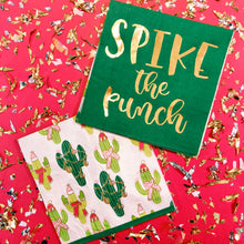 Spike The Punch Napkins