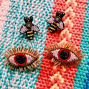 Providence Eye Stud Earrings