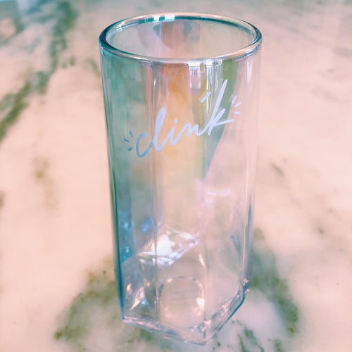 Clink Iridescent Champagne Flute