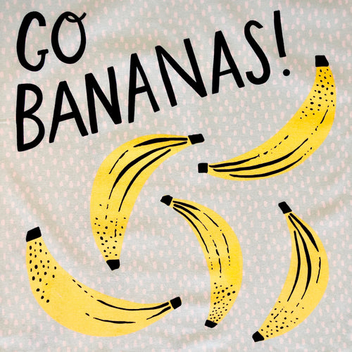 Go Bananas Tea Towel