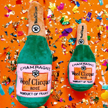 Woof Clicquot Rosé Champagne Bottle Dog Toy (2 Sizes)