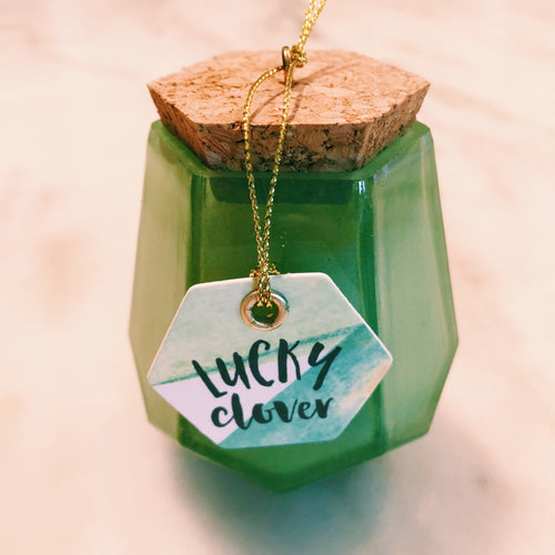 Lucky Clover Candle