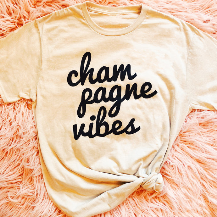 Champagne Vibes Tee