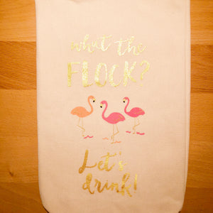 What The Flock Wine Bag