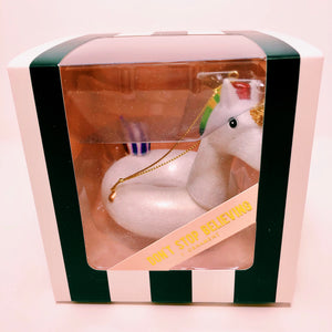 Unicorn Pool Float Ornament