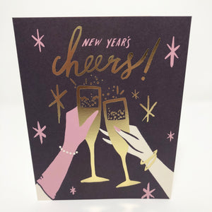 New Years Cheers Card