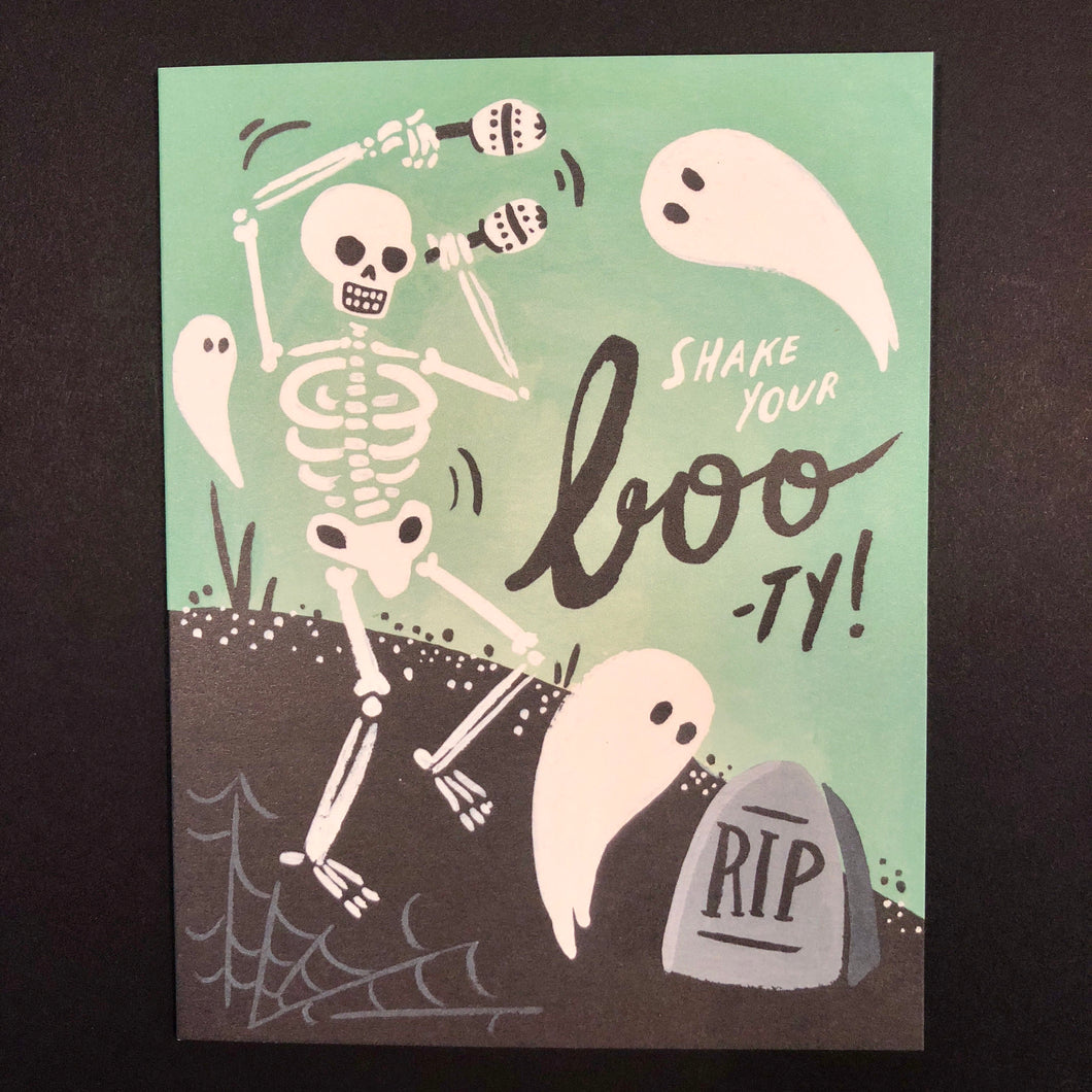 Shake Your Boo-Ty Card