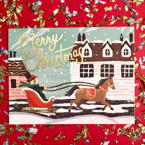 Sleigh Ride Card