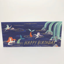 Mermaid Lagoon Birthday Card