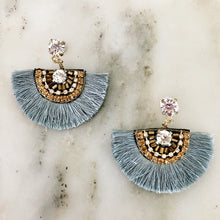 Silver Corinne Earrings