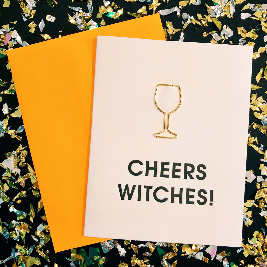 Cheers Witches Card