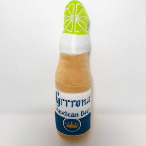 Grrrona Beer Bottle Dog Toy (2 Sizes)
