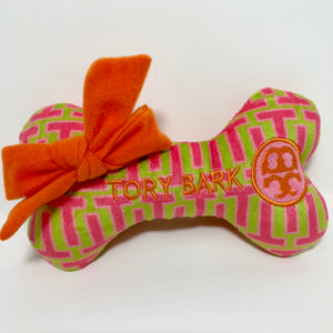 Tory Bark Bone Dog Toy