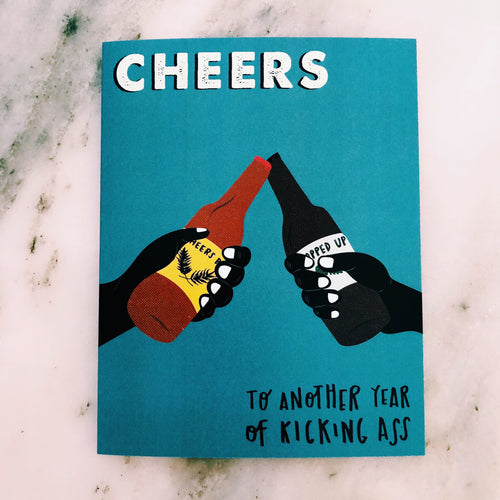 Cheers to Another Year Birthday Greeting Card