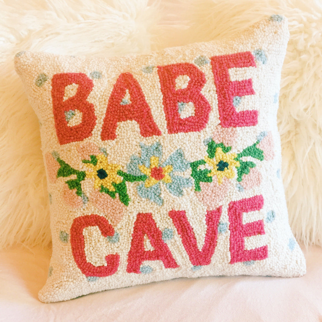 Babe Cave Pillow