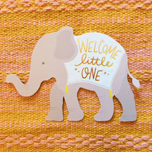 Welcome Little One Baby Card