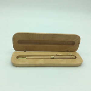 Executive Wood Pen & Case Gift Set