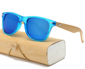 Artisan Wood Sunglasses with Case (C11)