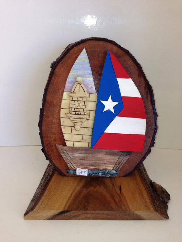 Puerto Rican Flag + Ship Craft