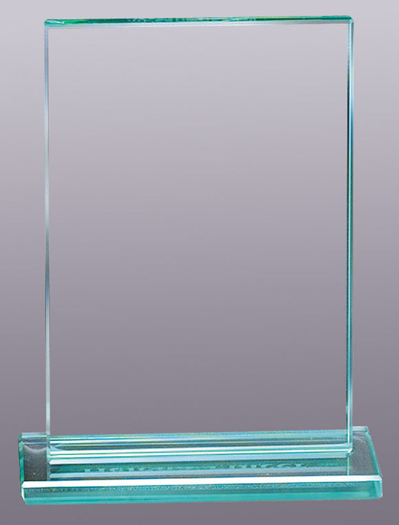 Jade Rectangular Glass Awards