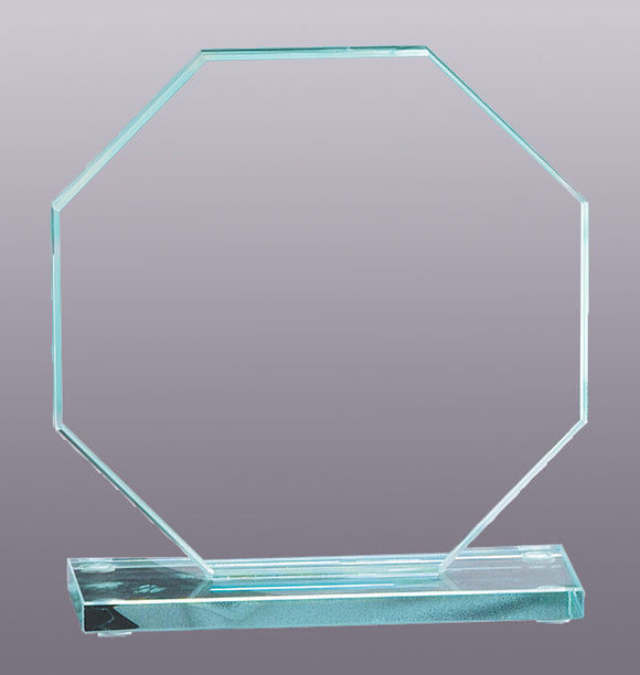 Jade Octagon Glass Award