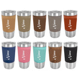 20 oz. Laserable Leatherette Polar Camel Tumbler