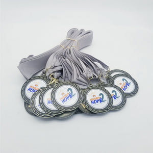 Insert Medal with your Custom Full Color Logo