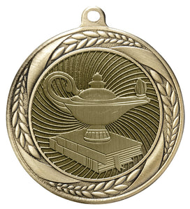 "Lamp of Knowledge 2 1/4"" Medal"