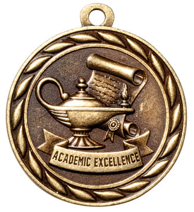 "Academic Excellence 2"" Medal"
