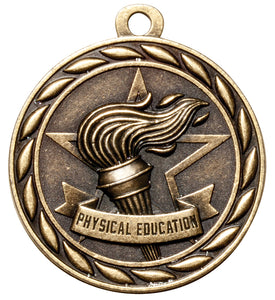"Physical Education 2"" Medal"