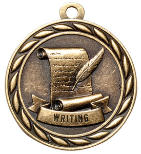 "Writing 2"" Medal"