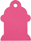 Fire Hydrant Pet Tag