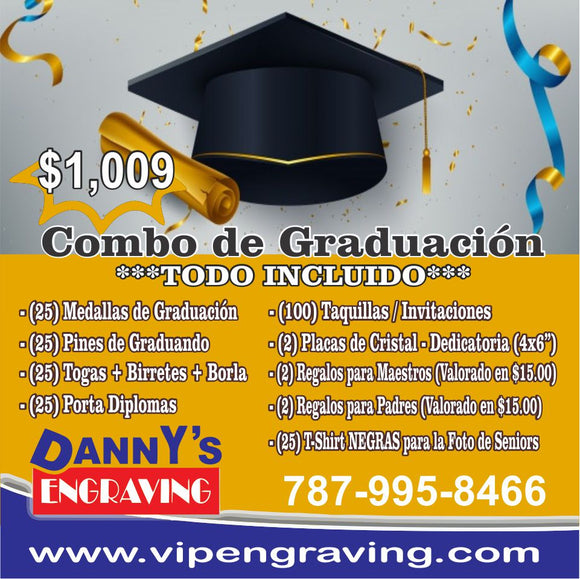 GRADUATION COMBO **ALL INCLUSIVE**