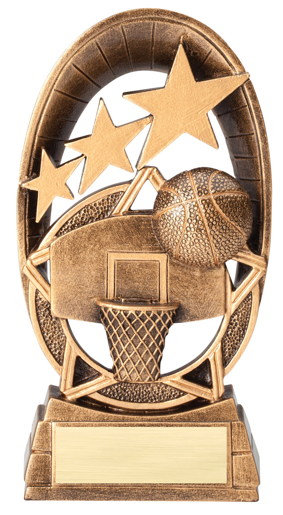 Radiant Stars Basketball Resin