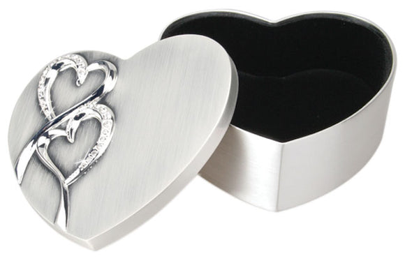Hearts Box for Rings