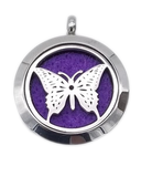 Brand New Butterfly Aroma Essential Oil Diffuser Locket Pendant