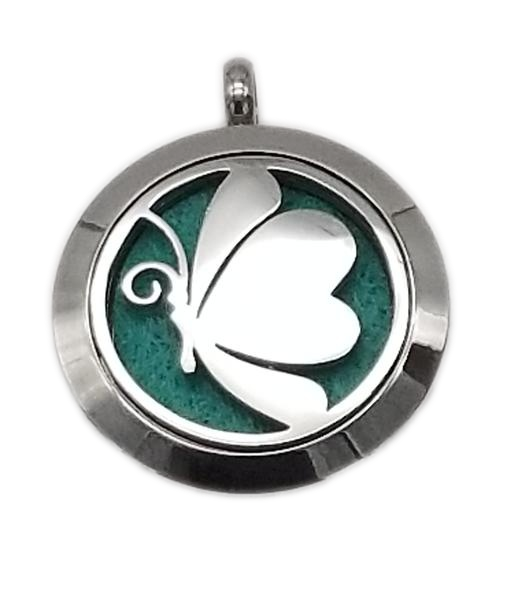 Brand New Comic Butterfly Aroma Essential Oil Diffuser Locket Pendant