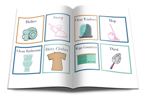 52 + Chores & Routine Cards for Kids